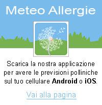 Meteo Allergie - Previsioni sui pollini per Android